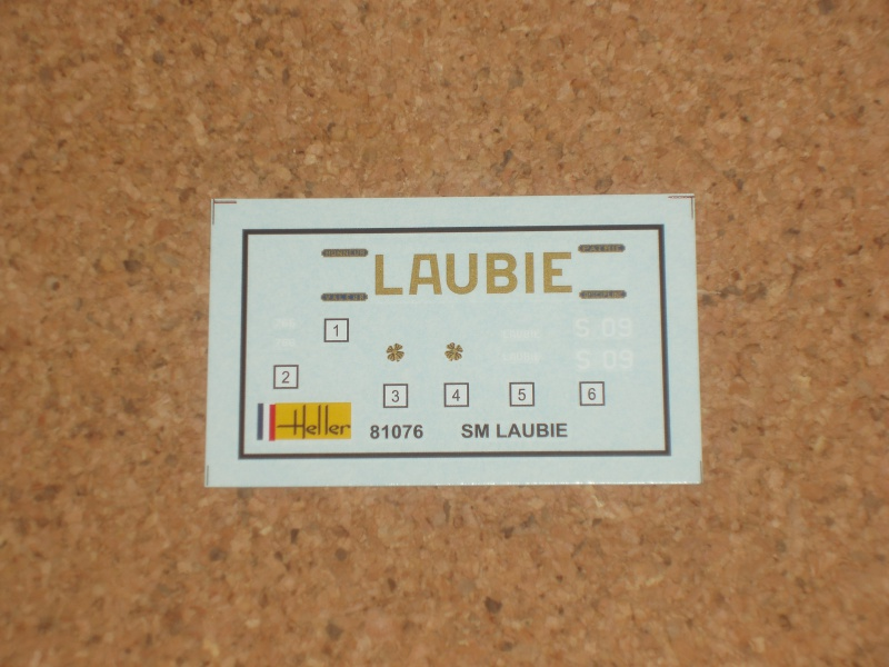 Sous-Marin Laubie échelle 1/400. 693241Photo042