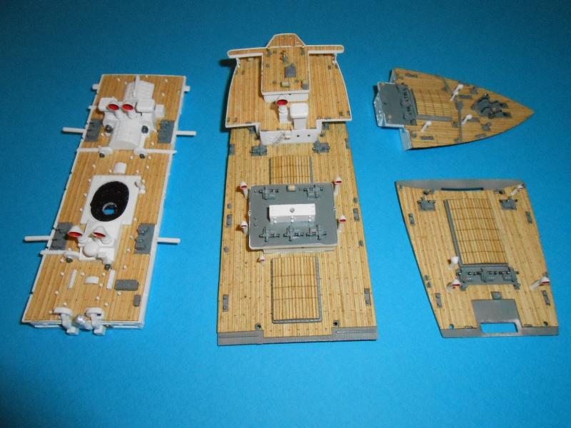 Hikawa Maru hopital 1/350 PE/pont en bois et babioles  - Page 3 695497DSCN5670