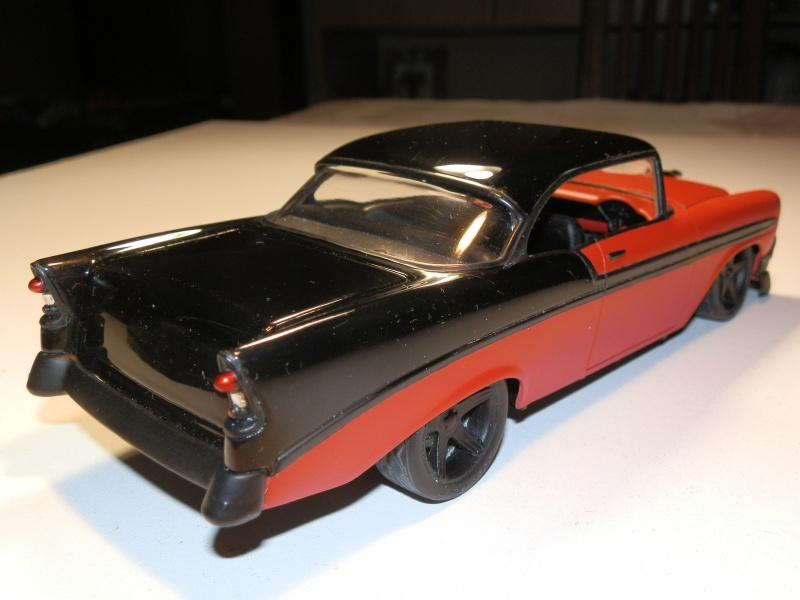 #47 : Chevy bel air 56 custom (TERMINEE) 695933P9305401