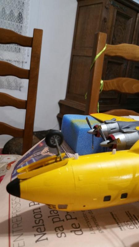 DOUGLAS DC-6B SECURITE CIVILE maquette HELLER au 1/72° - Page 2 69856520171216192514