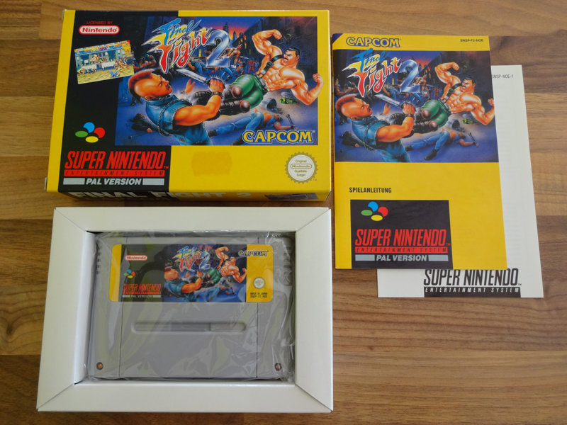 Prupru's Collection ! 100% Super Nintendo et 200% Super Comboy !! - Page 18 698634FinalFight2NOE1