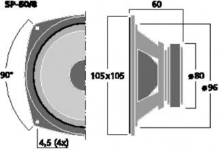 VW T3 Westfalia 1982, ensemble Clarion, montage et installation mise à jour du 19/08 700655monacorsp608dimension