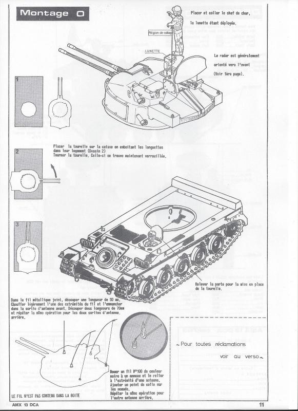 AMX 13 DCA - (Réf. L783) 1/35  701183AMX13DCA783012Heller135