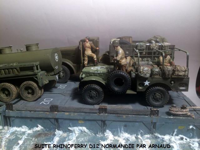 Rhinoferry D12 plage du débarquement Normandie (Hobby Boss, AFV, Italeri, 1/35) - Page 2 702050dodge1005