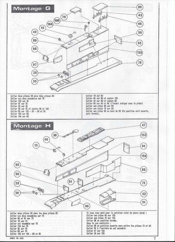AMX 13 canon de 155 - (Réf. L782) 1/35 702563AMX13155782008Heller135