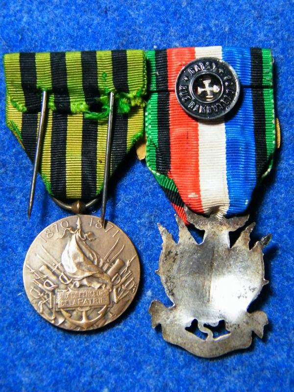 "commemo 1870/71 + veterans "" membre honoraire "" 702942016"