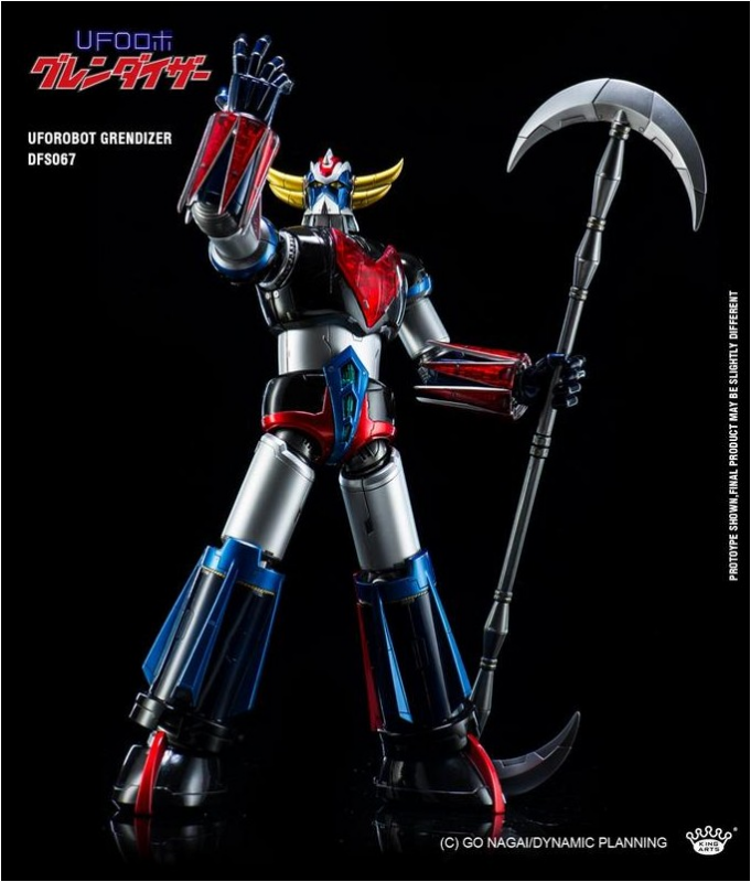 KING ARTS DIE-CAST GRENDIZER   703063DFS0674