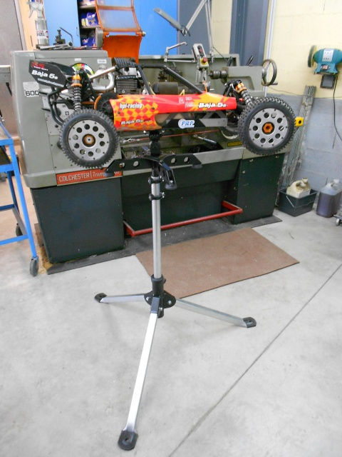 Base de mantenimiento baja PRP Production  (+ trípode de campo) 703738DSCN8063