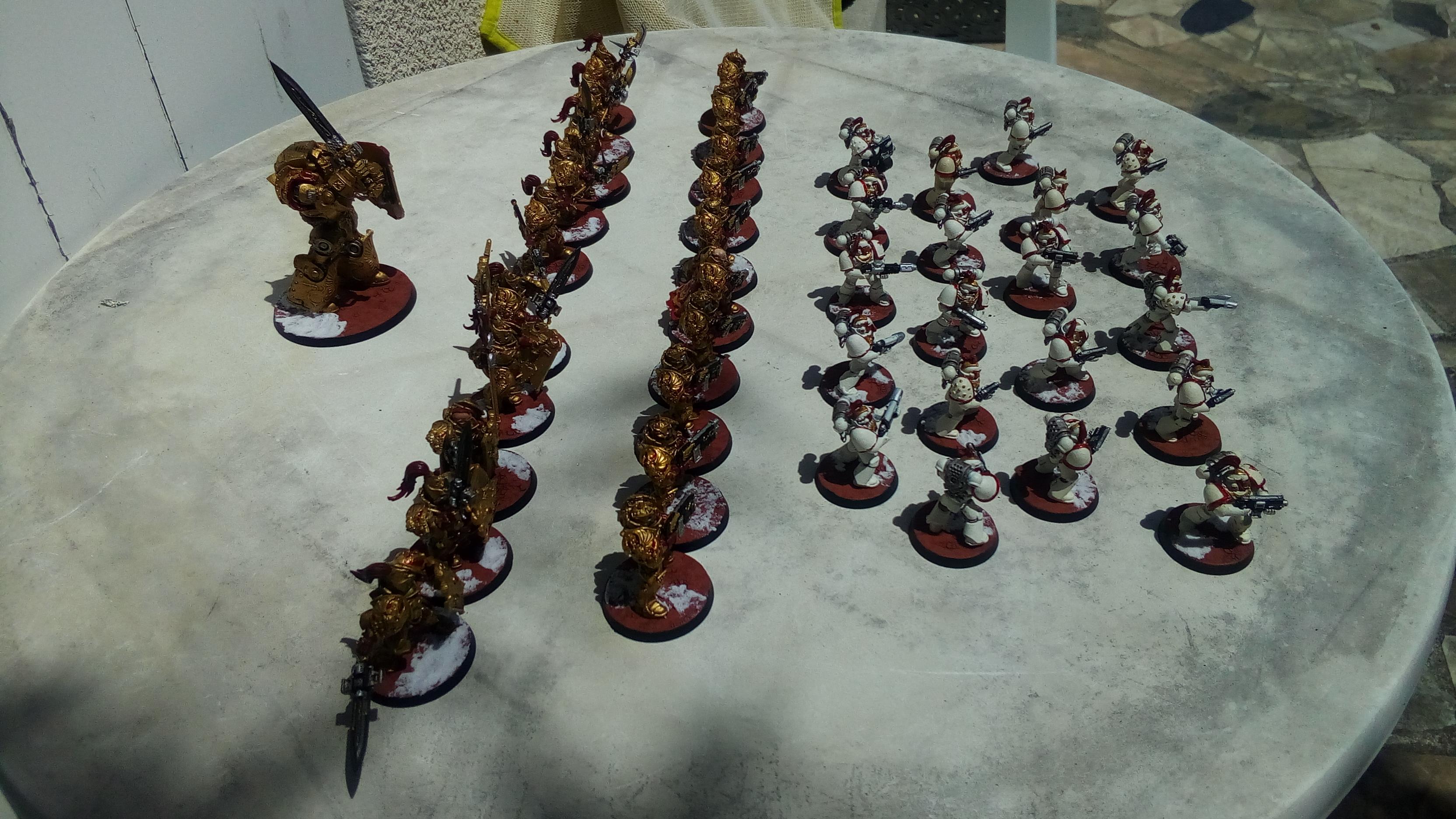 Les Armées de Nico. (Battle & 40K) 7042417510
