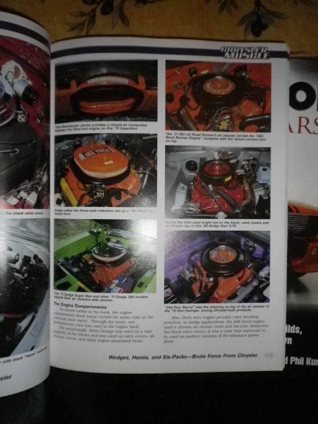 livres 2 * us car ,truck ,moto et  cinema 704555RedimensionnementdeChrylserMuscle5