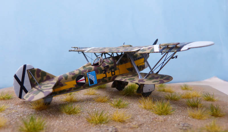 Fiat CR 32 de l'Aviation Légionnaire - Italeri (Upgrade ex Supermodel) 704636CR3273