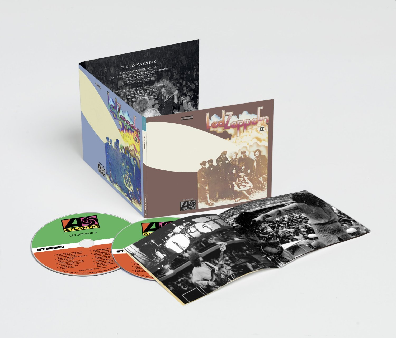 REMASTERS 2014 704725ledzeppelinII2014remastervinyedition