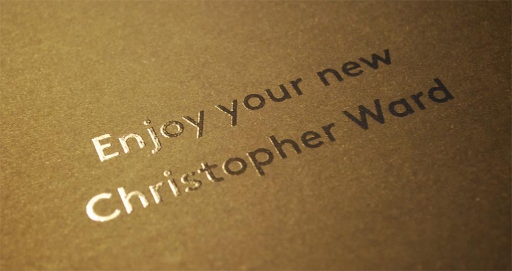 ward - Enjoy your new Christopher Ward C1 Grand Malvern 5 Day Automatic 704831enjoy