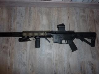 P90 KA, M4 gb Systema, lance-grenade post Apo, radio/casque 705217M41