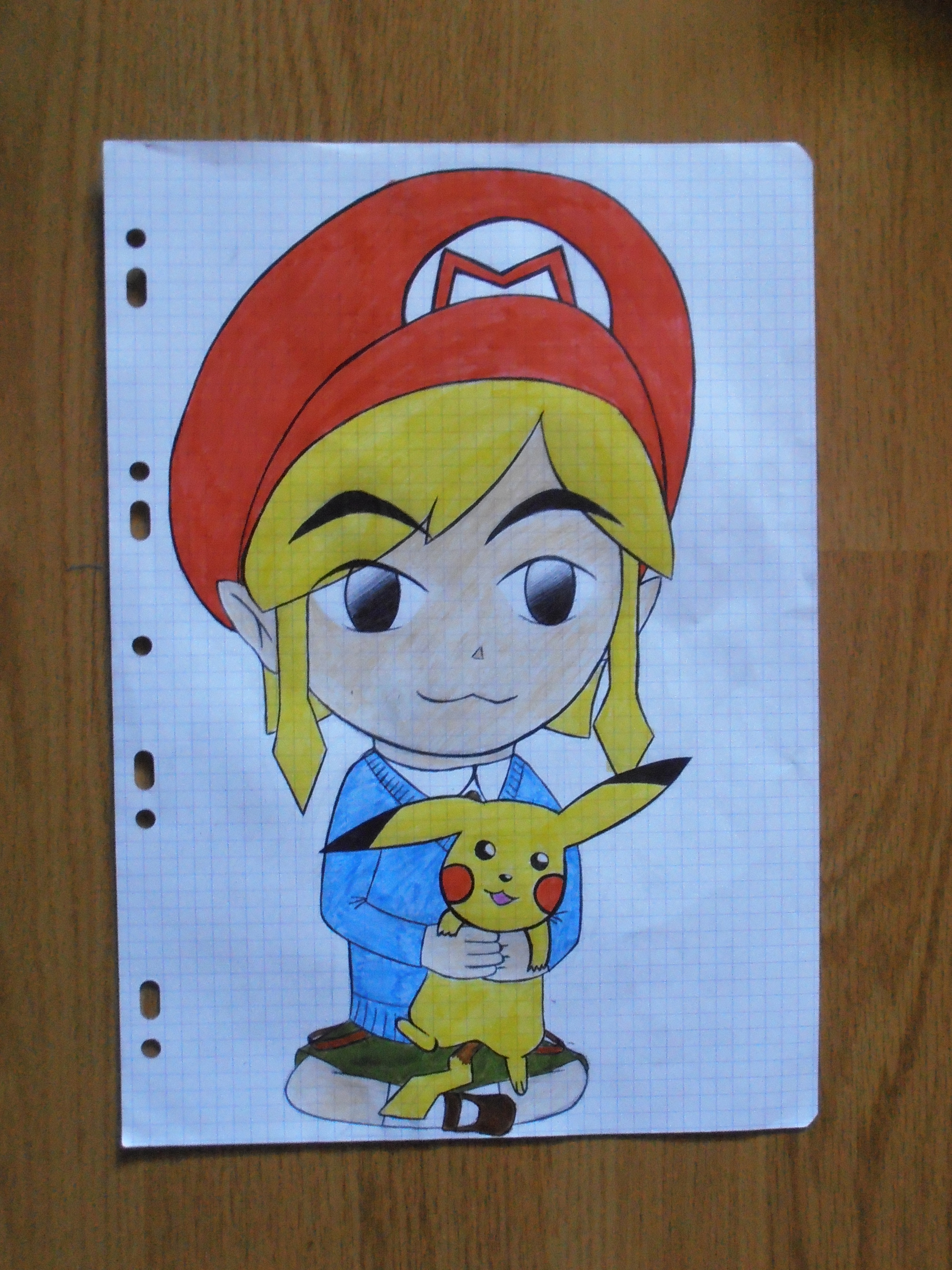 Mes dessins sur Zelda et autres sagas Nintendo 705499P9160434