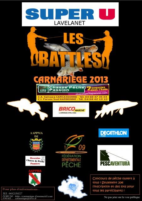 Battles CARNARIEGE 2013 706949affichebattles2013ok