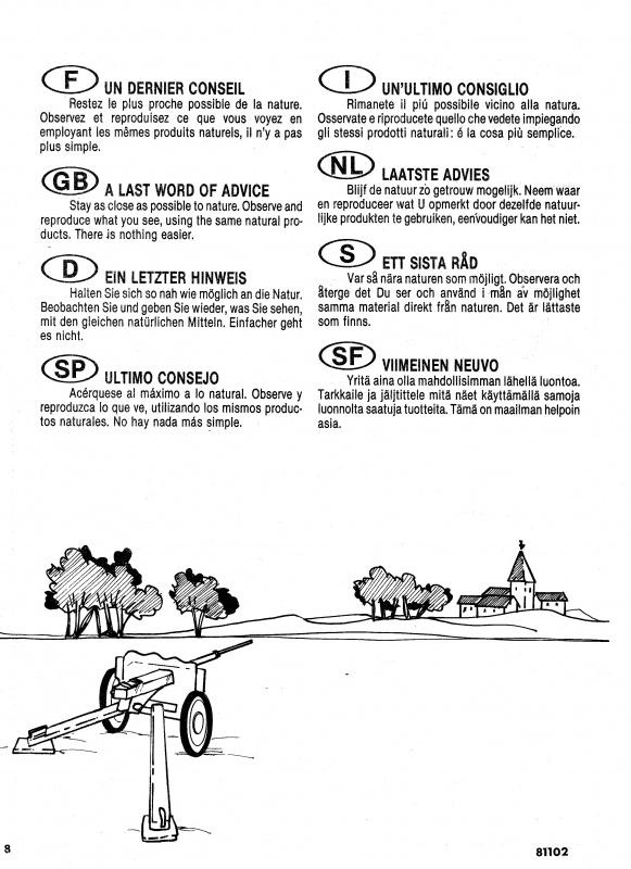 Diorama Saumur (Réf.81102) 1/35 707375Heller81102011DioramaSaumur135