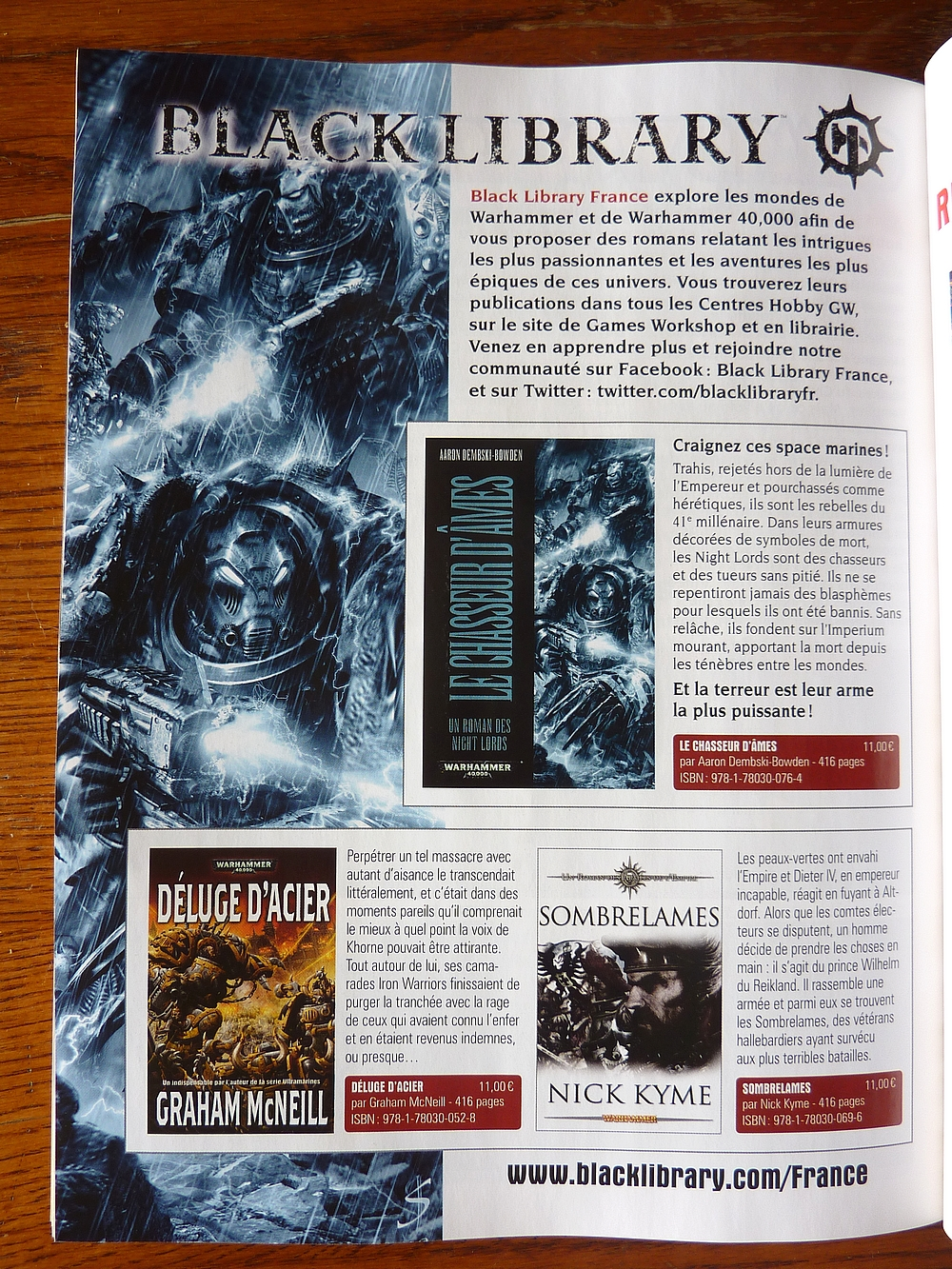Sorties Black Library France octobre 2012 708314BLFWD222