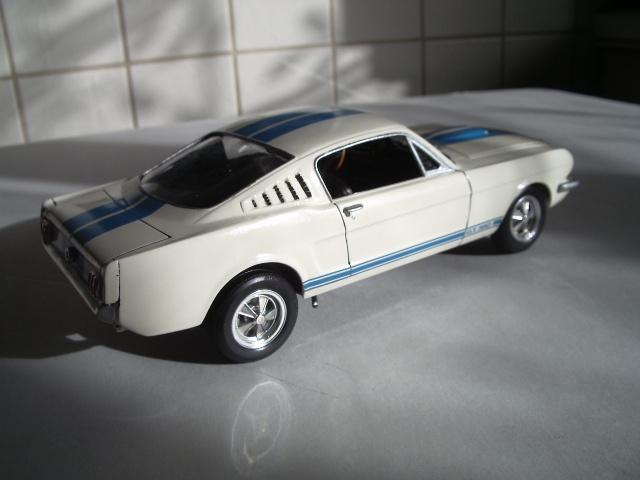 mustang shelby 350 GT 1965  kit monogram 1/24 . 708495IMGP3095