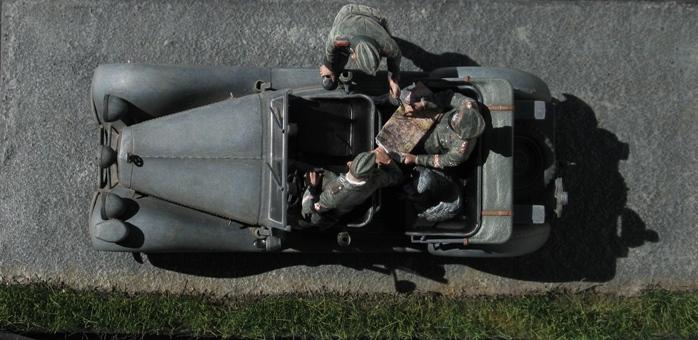 "Mercédès V170 ""polizei"" MB 1/35 TERMINE 709180modles129007"