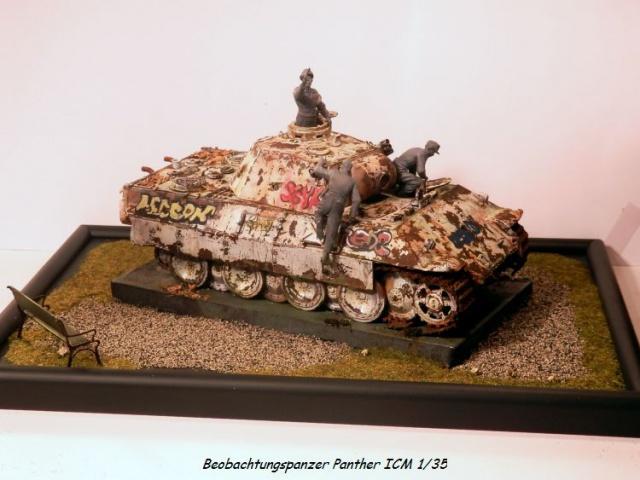réhabilitation d un Béobachtungspanzer Panther ICM 1/35 709587P4270403