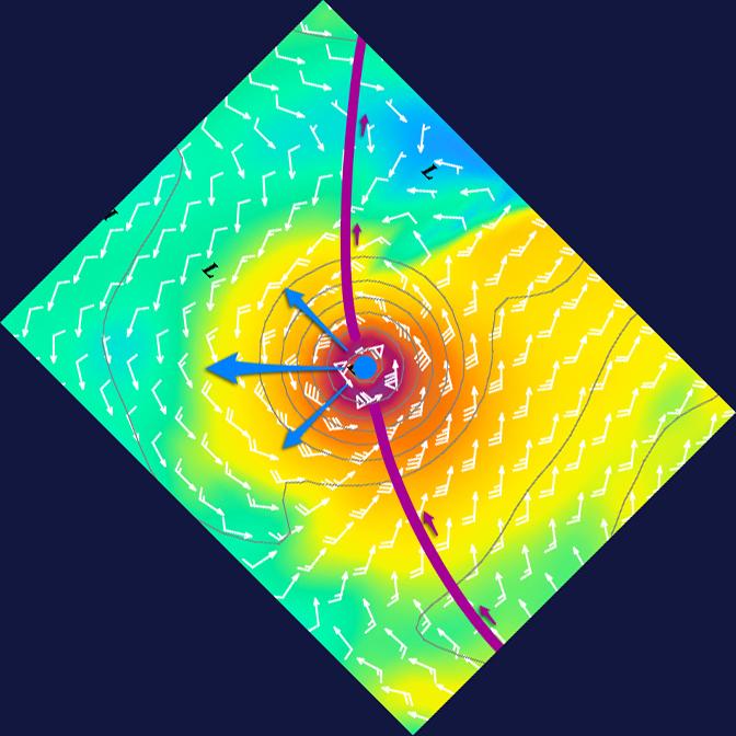 Cyclone GONZALO sur les îles du Nord des Antilles 709670EsquivCycloPetAntRot45