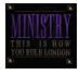 Je travaille pour le Ministère