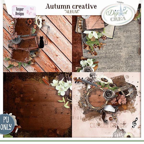 Collection Autumn creative de Xuxper Designs + Promo 709831933