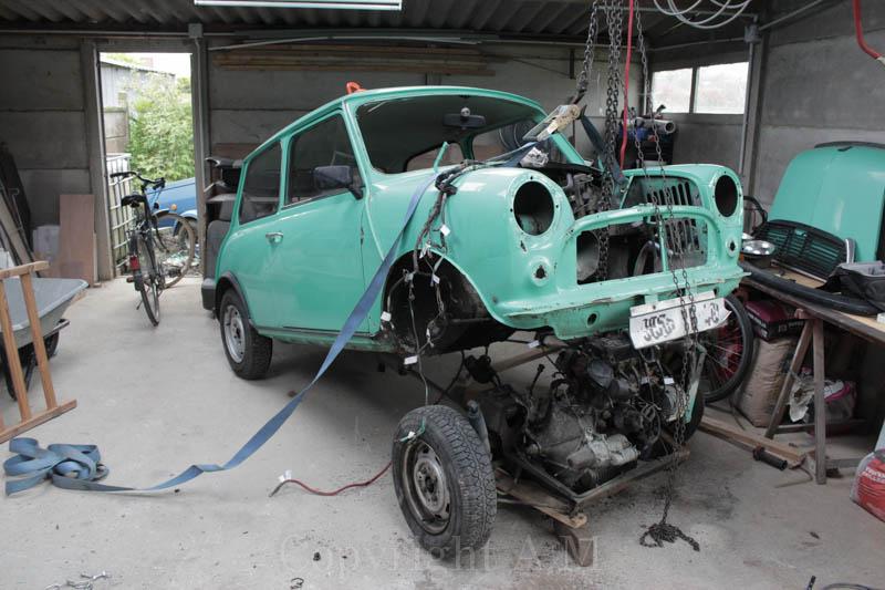 Restauration d'une Austin de 1980 710258IMG3261