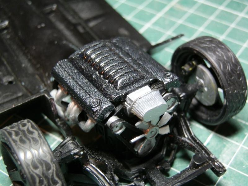 #47 : Chevy bel air 56 custom (TERMINEE) 710483P9295365