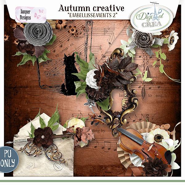 Collection Autumn creative de Xuxper Designs + Promo 710542428