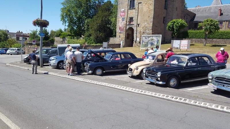 25 Juin - 30ème Rallye de l'Amicale Rétro Peugeot Atlantique 71058520170625Rallyeannuel044