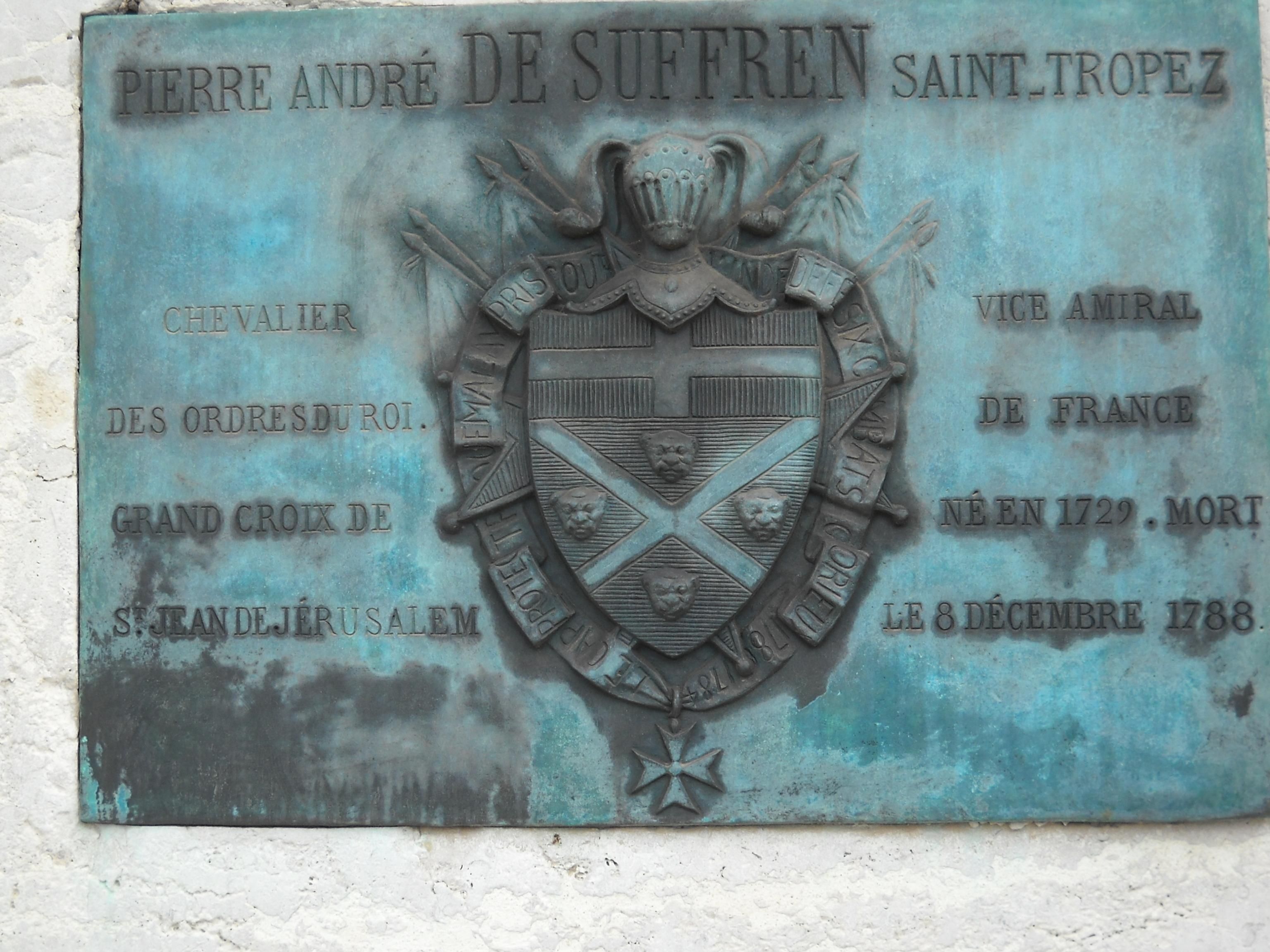 [ Histoire ET histoires ] La Statue du Vice Amiral Pierre André de SUFFREN 712288RSCN0698