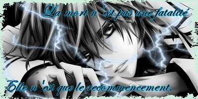 """""""Je soulèverais cette misère et la broierait de mes propres mains."""" EVENT/ (Libre, Ryuku). 713262Signamort"""