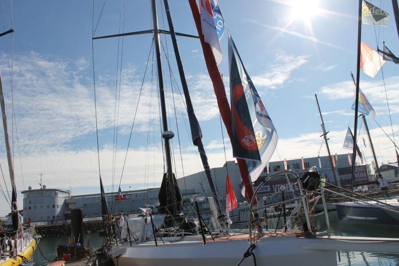 Visite du village et du ponton du Vendée Globe le 25/10/16 714374IMG4583