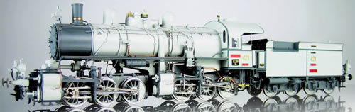 Les locomotives à vapeur articulées 715006MicroMetakit030030type421KOB
