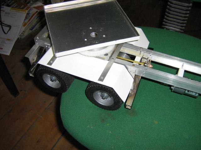 Autoportée Atkinson, camion grue à flèche treillage de dépannage époque 1940.  716031IMG0992
