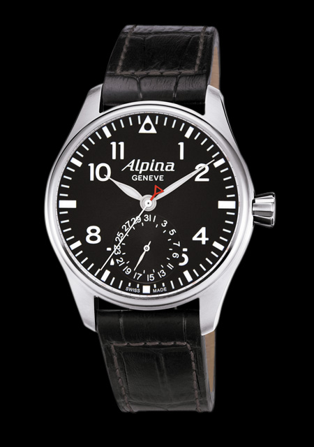quels sont les montres avec calibre manufacture à 4000 euros? 716660AlpinaStartimerPilotManufactureAL710B4S67491