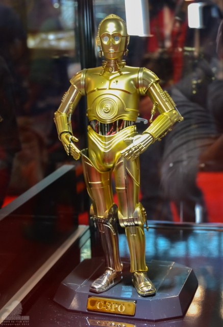 STAR WARS - C3PO - Perfect Model (TAMASHII AND SIDESHOW PERFECT CHOGOKIN) 717791TamashiiNationsC3POR2D2NYCC09
