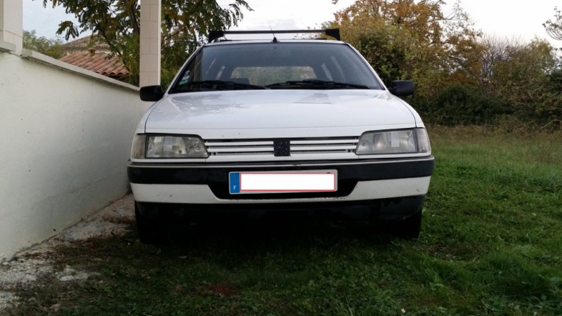 [PEUGEOT] 405 phase 2 Break 1.9L 115cv GRDT (Signatured, Clim OK)(New Culasse) On The Road Again 71919620141030175545184644