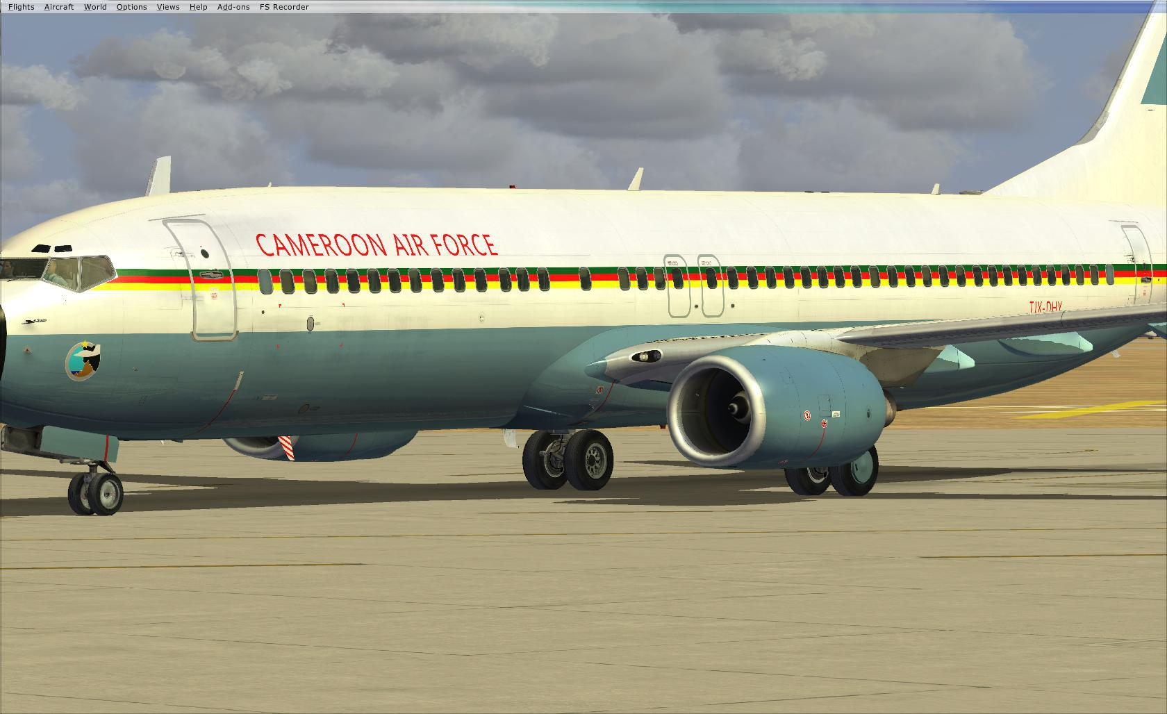 738 ngx cameroon air force 720777fsx2013071309411800