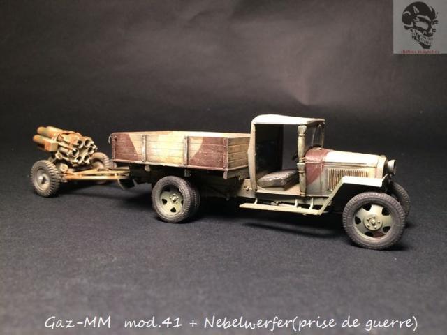Gaz-MM mod 41 et Nebelwerfer (prise de guerre) - MiniArt + Dragon - 1/35 720854IMG5070