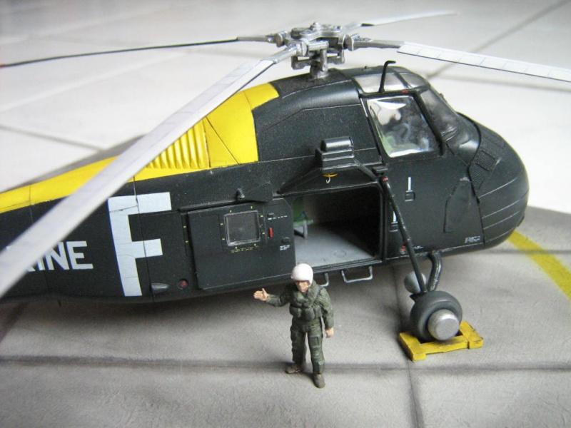 Sikorsky Sud-Aviation HSS-1 [Hobby Boss 1/72] 721005Photo101