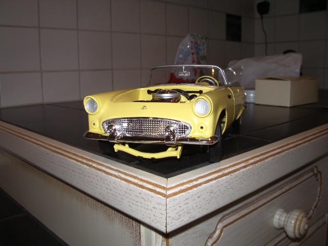 ford thunderbird 1955 au 1/16 de chez amt  7218360021