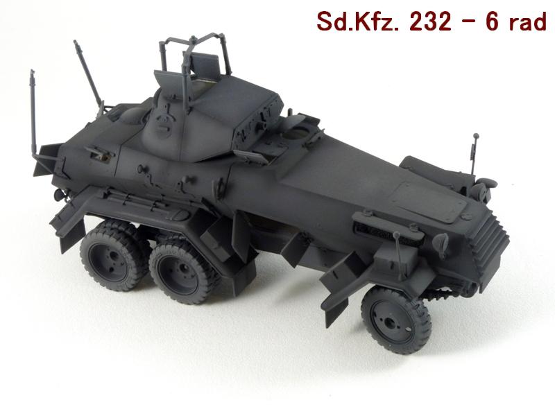 Sd.Kfz. 232 6 Rad - France 1940 - Italeri 1/35 724840P1030989