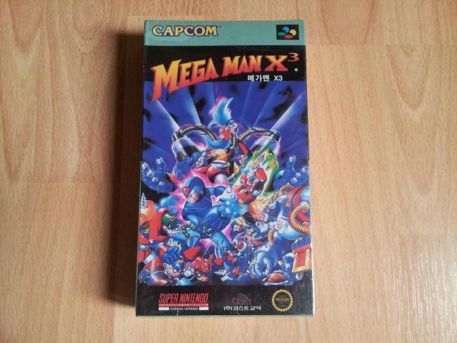 Prupru's Collection ! 100% Super Nintendo et 200% Super Comboy !! 726163MegaManX3