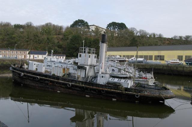 L'Ondée (bateau citerne)  M.N 726267Vuebabord