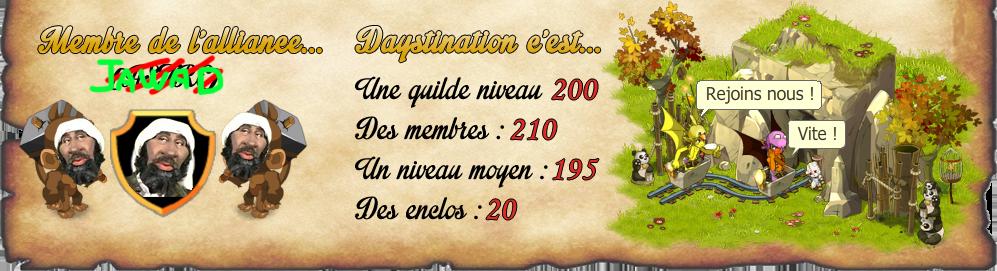 Guilde Daystination - Raval - Dofus 72630813qs