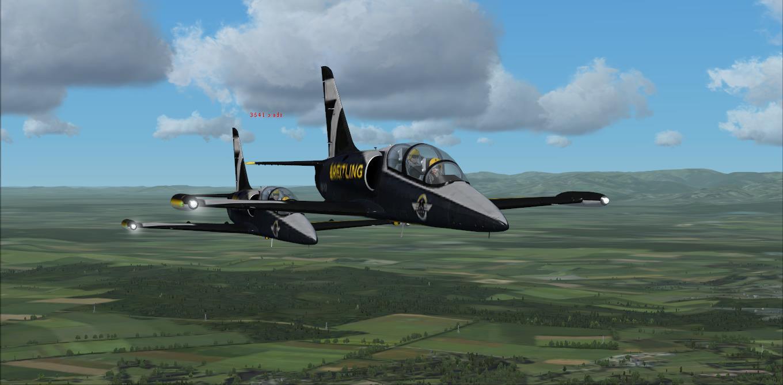 Entrainement au vol en patrouille  avec Manu ! 72702420144415132756