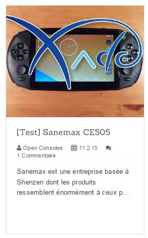 Sanemax CE505 : Le Test 72710320150402210807
